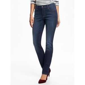 Old Navy Original Straight Dark Wash Jeans Size 12